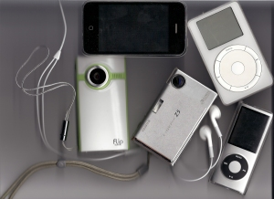 Some of the gadgets within my reach